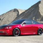 Car RSX in Red